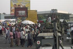 EUFOR RD Congo hieß die Mission der Europäischen Union.