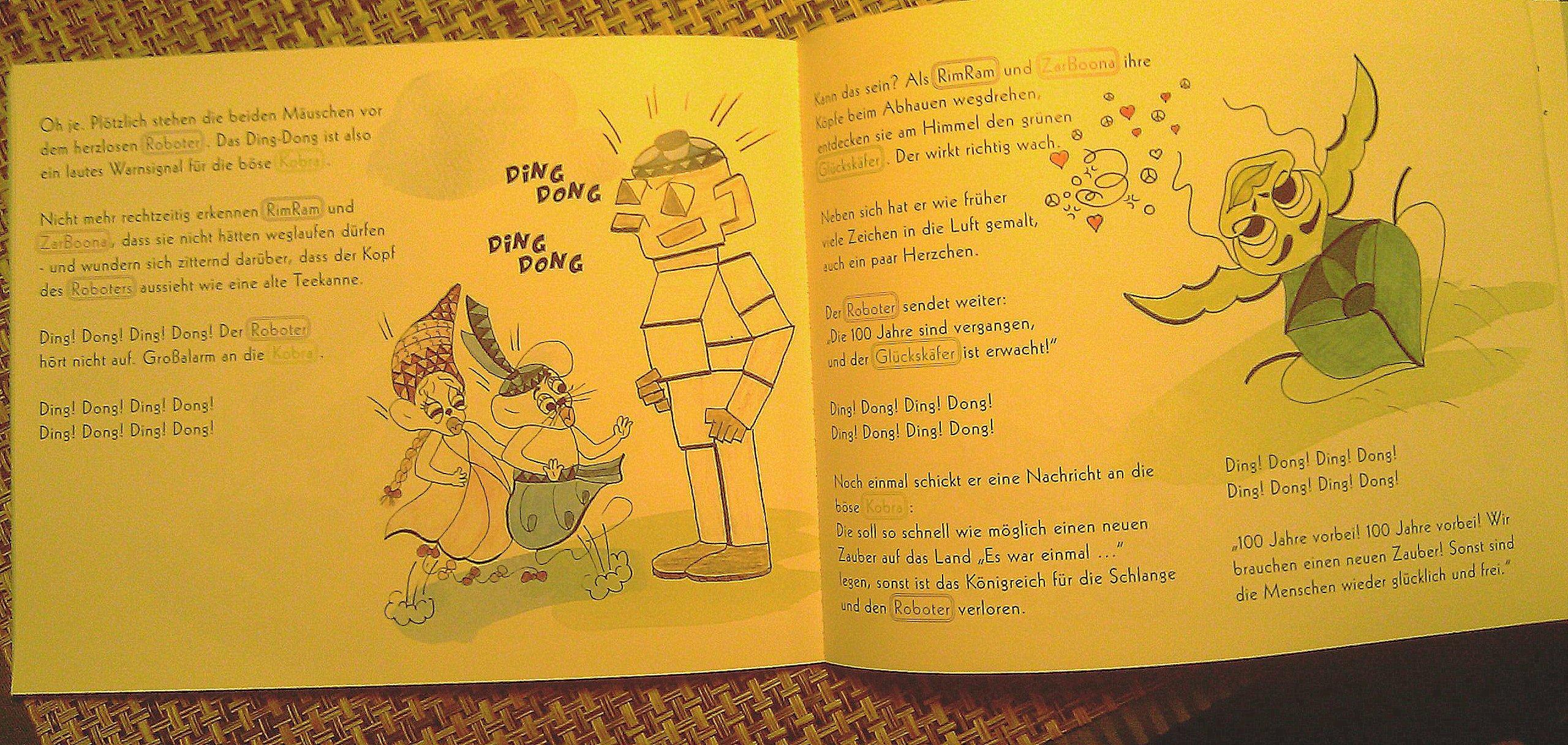 Karl-Heinz Smuda übernimmt in Berlin das Korrekturlesen von Manuskripten für Kinder.
