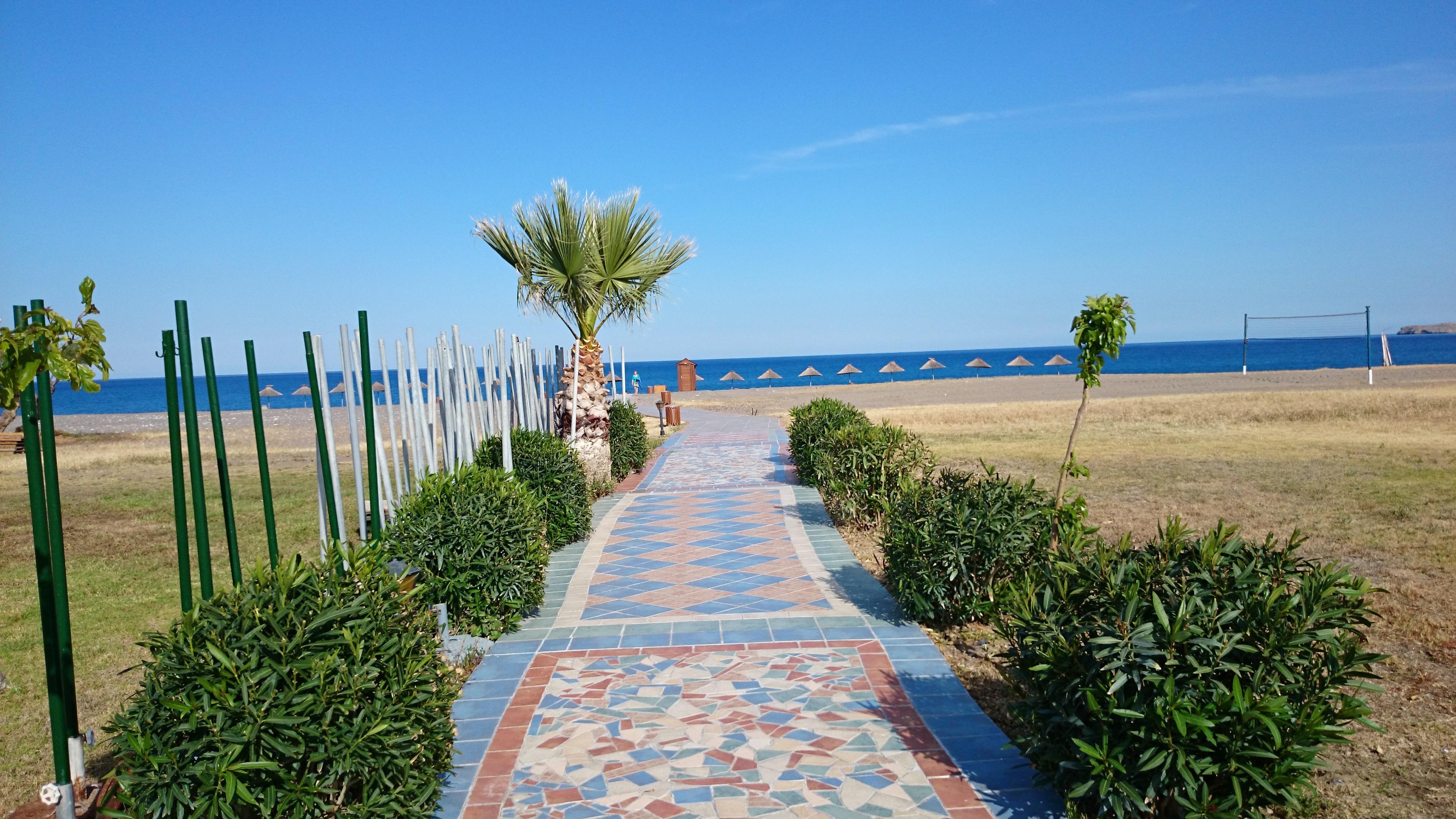Der Weg zu Meer