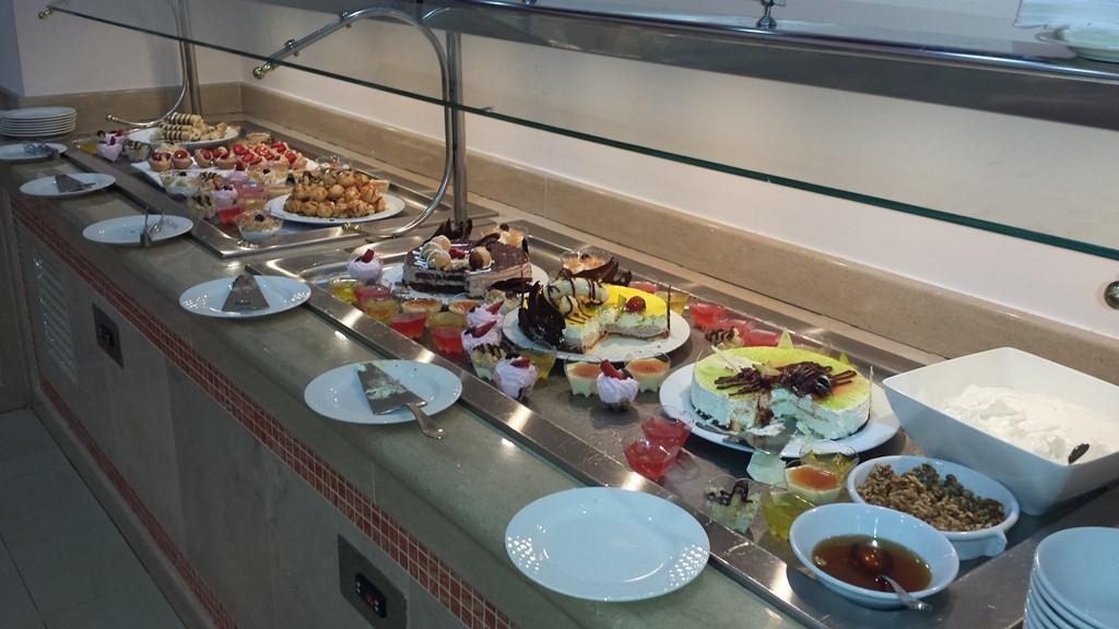 Kuchen am Buffet