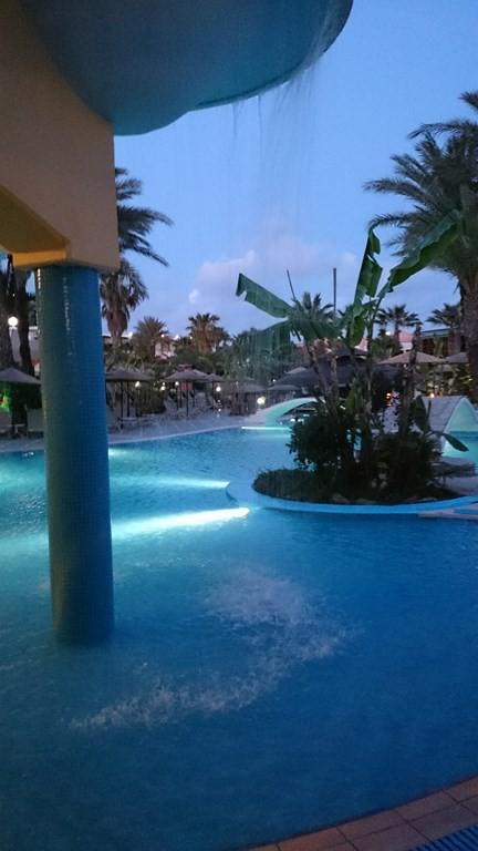 Poollandschaft Hotel Atrium Palace auf Rhodos