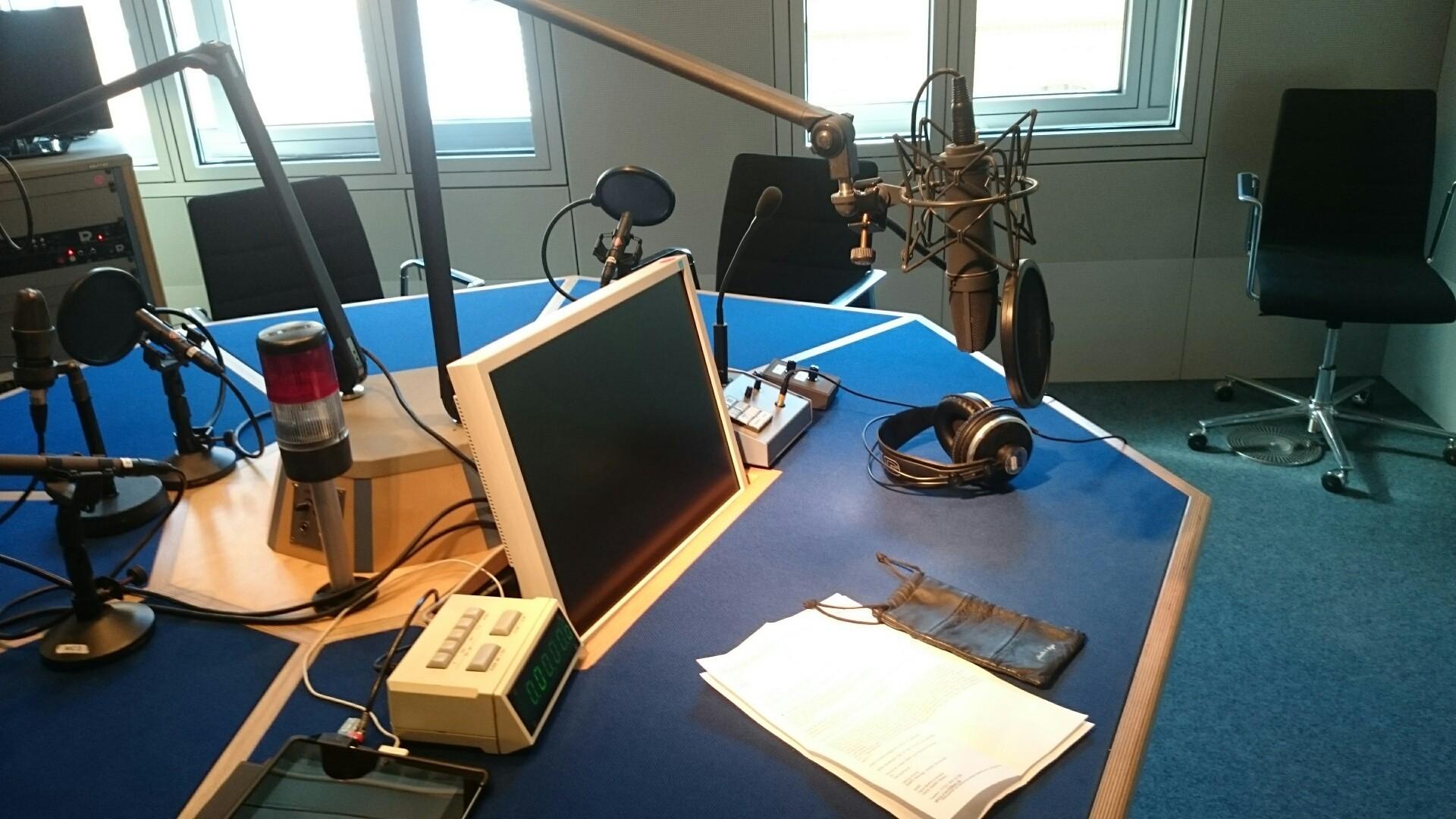 ARD-Hauptstadtstudio mit Karl-Heinz Smuda