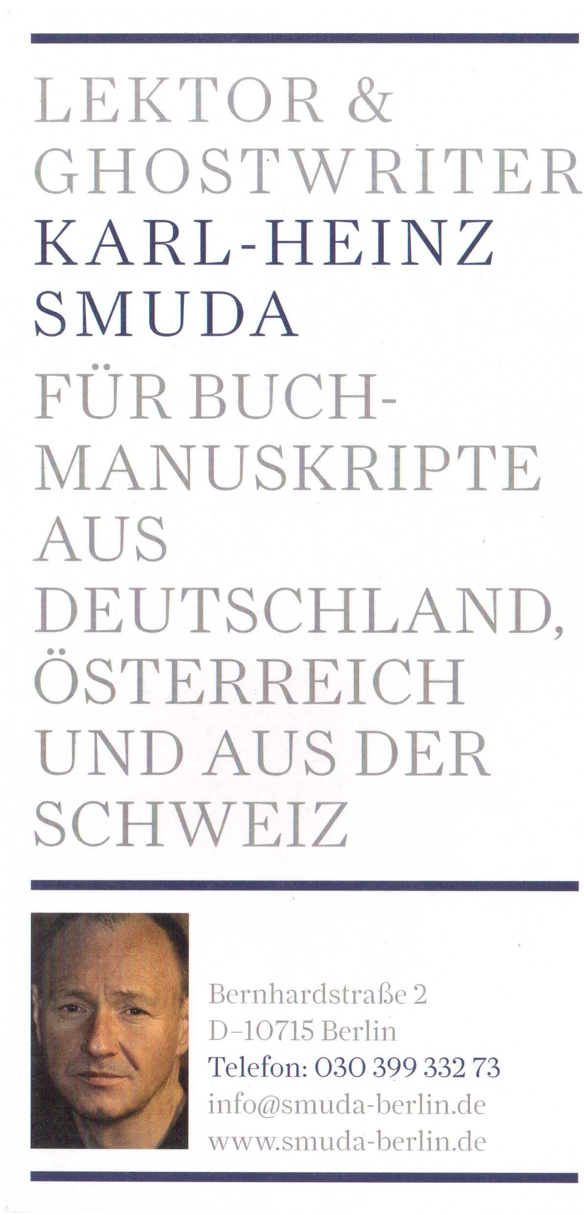 Lektor Karl-Heinz Smuda